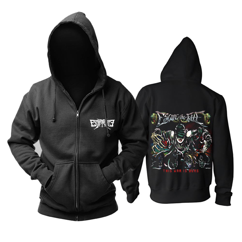 Merchandise Escape The Fate Hoodie This War Is Ours Pullover