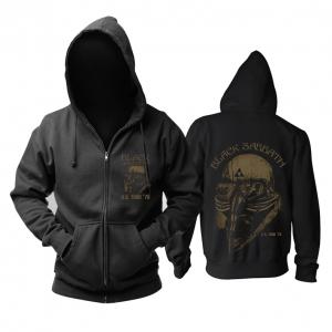 Merch Black Sabbath Hoodie Never Say Die Logo Pullover