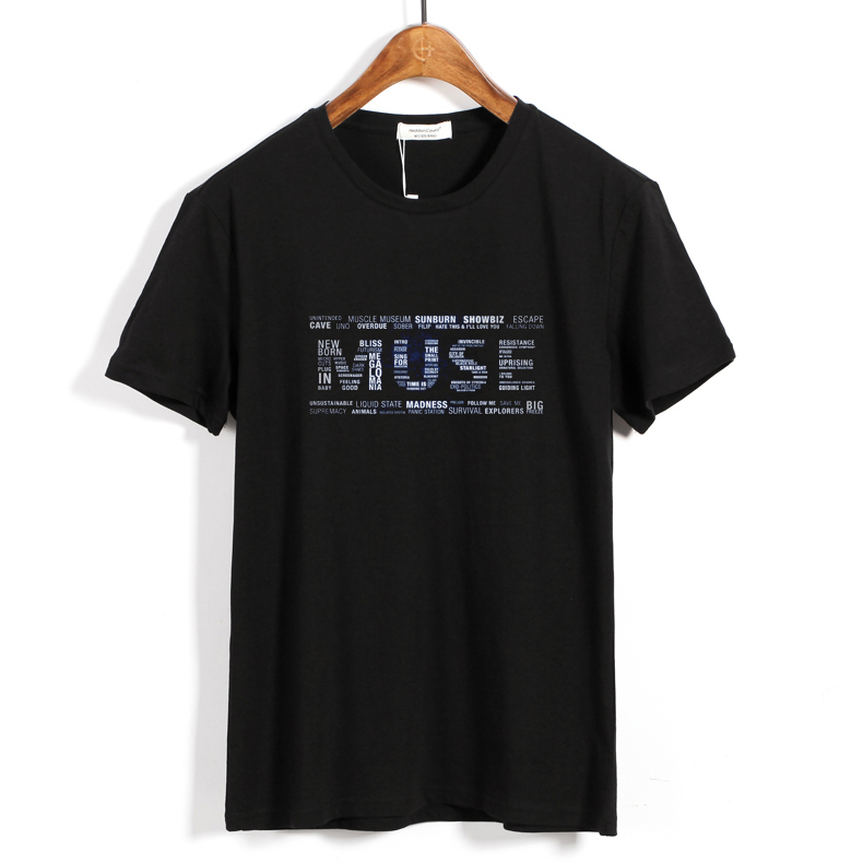 Collectibles T-Shirt Muse Type Logo Rock
