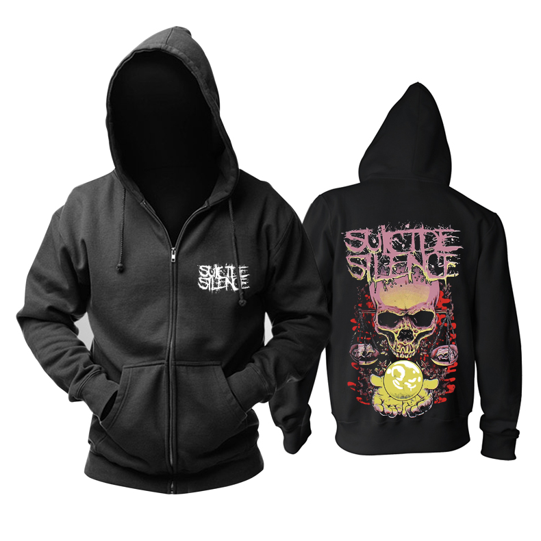 Merchandise Hoodie Suicide Silence Libra Pullover