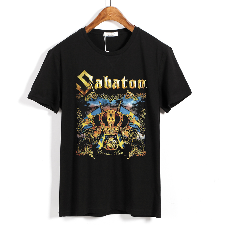 Merchandise T-Shirt Sabaton Carolus Rex Heavy-Metal
