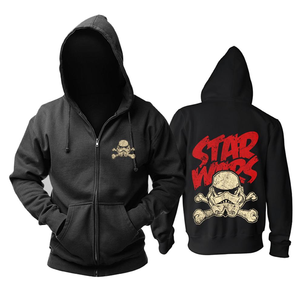 Merchandise Hoodie Star Wars Stormtrooper Logo Black Pullover