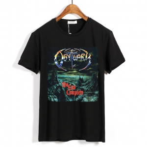 Merch T-Shirt Obituary The End Complete