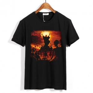 Merch T-Shirt Deicide To Hell With God