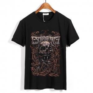 Collectibles T-Shirt Escape The Fate Skull Black