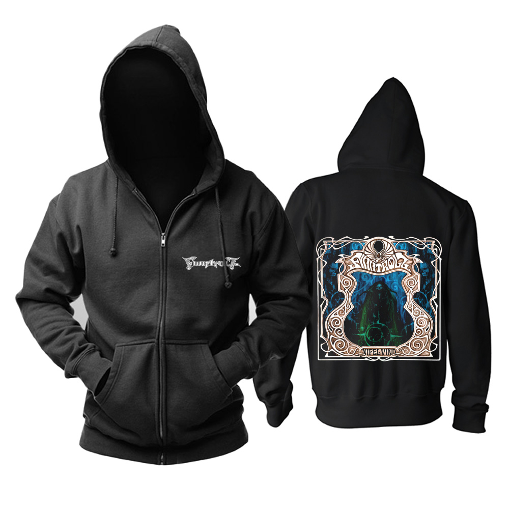 Merch Hoodie Finntroll Nifelvind Black Pullover