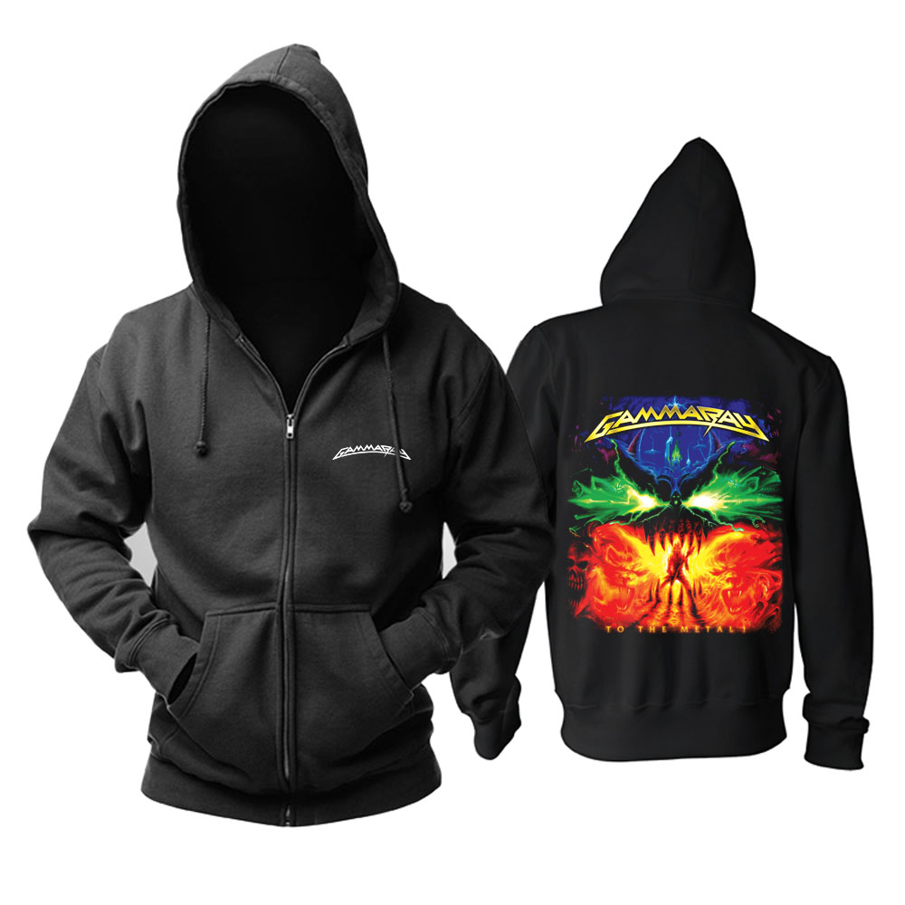 Merch Hoodie Gamma Ray To The Metal Pullover