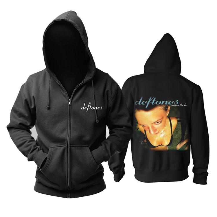 Merchandise Hoodie Deftones Around The Fur Pullover