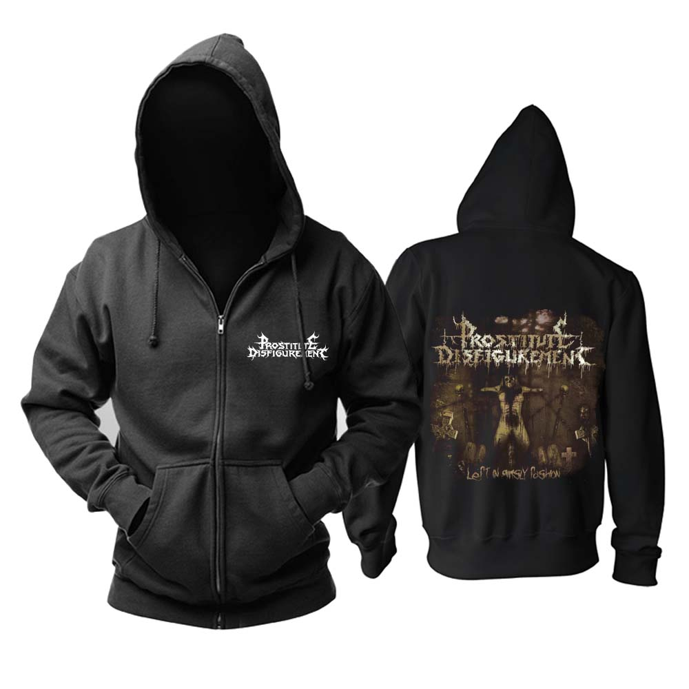 Merch Hoodie Prostitute Disfigurement Left In Grisly Fashion Pullover