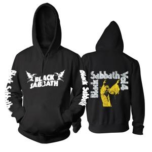 Merch Hoodie Black Sabbath Vol. 4 Black Pullover