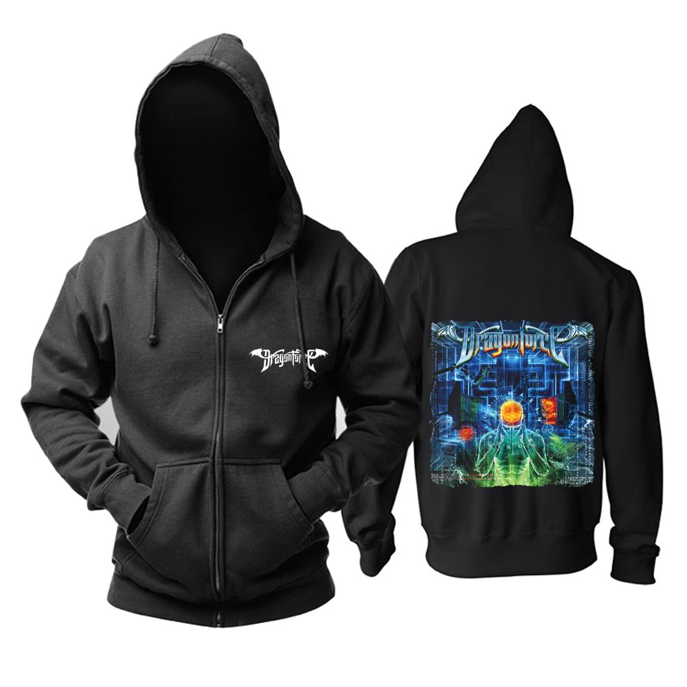 Merchandise Hoodie Dragonforce Maximum Overload Pullover