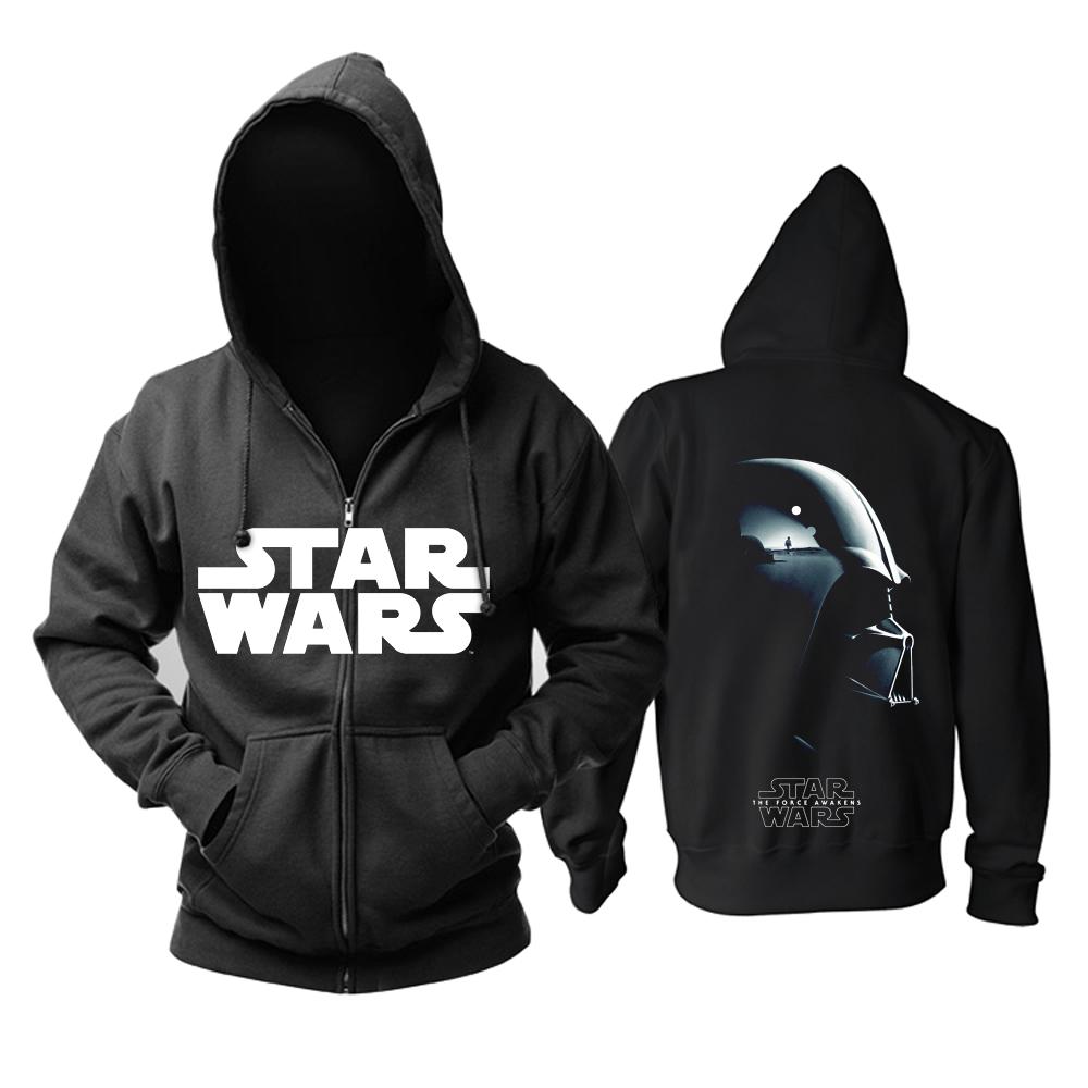 Merchandise Hoodie Star Wars Two Sides Print Pullover