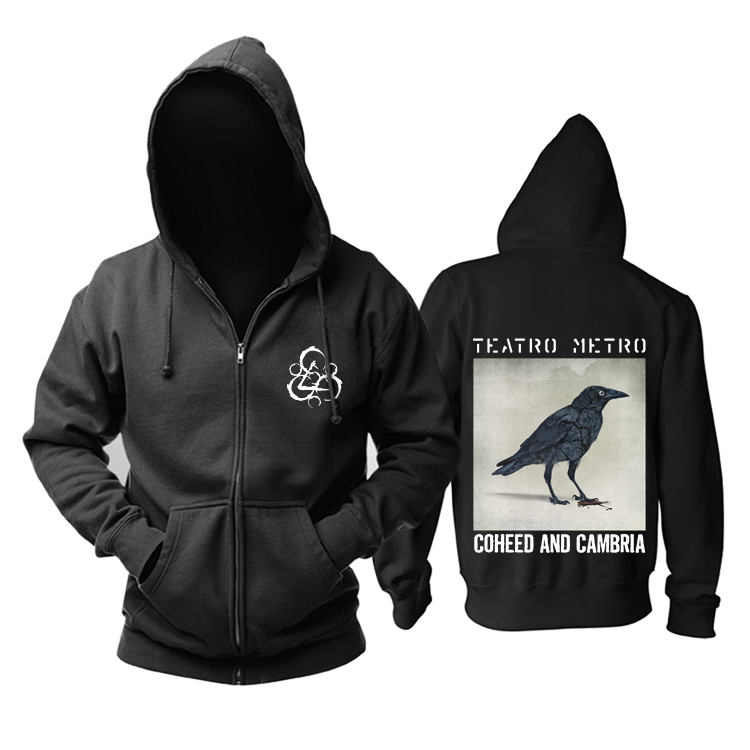 Collectibles Hoodie Coheed And Cambria Teatro Metro Pullover