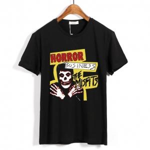 Merch T-Shirt Misfits Horror Business
