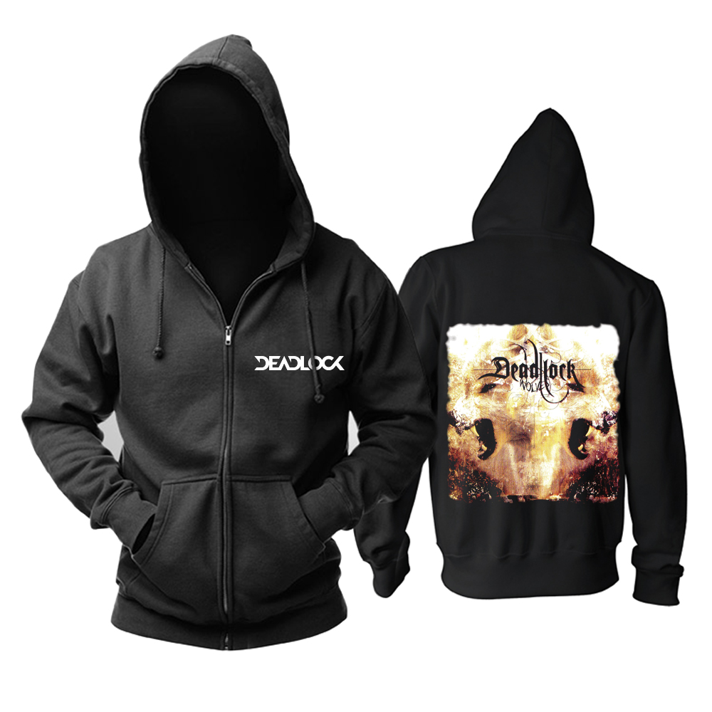 Merch Hoodie Deadlock Wolves Black Pullover