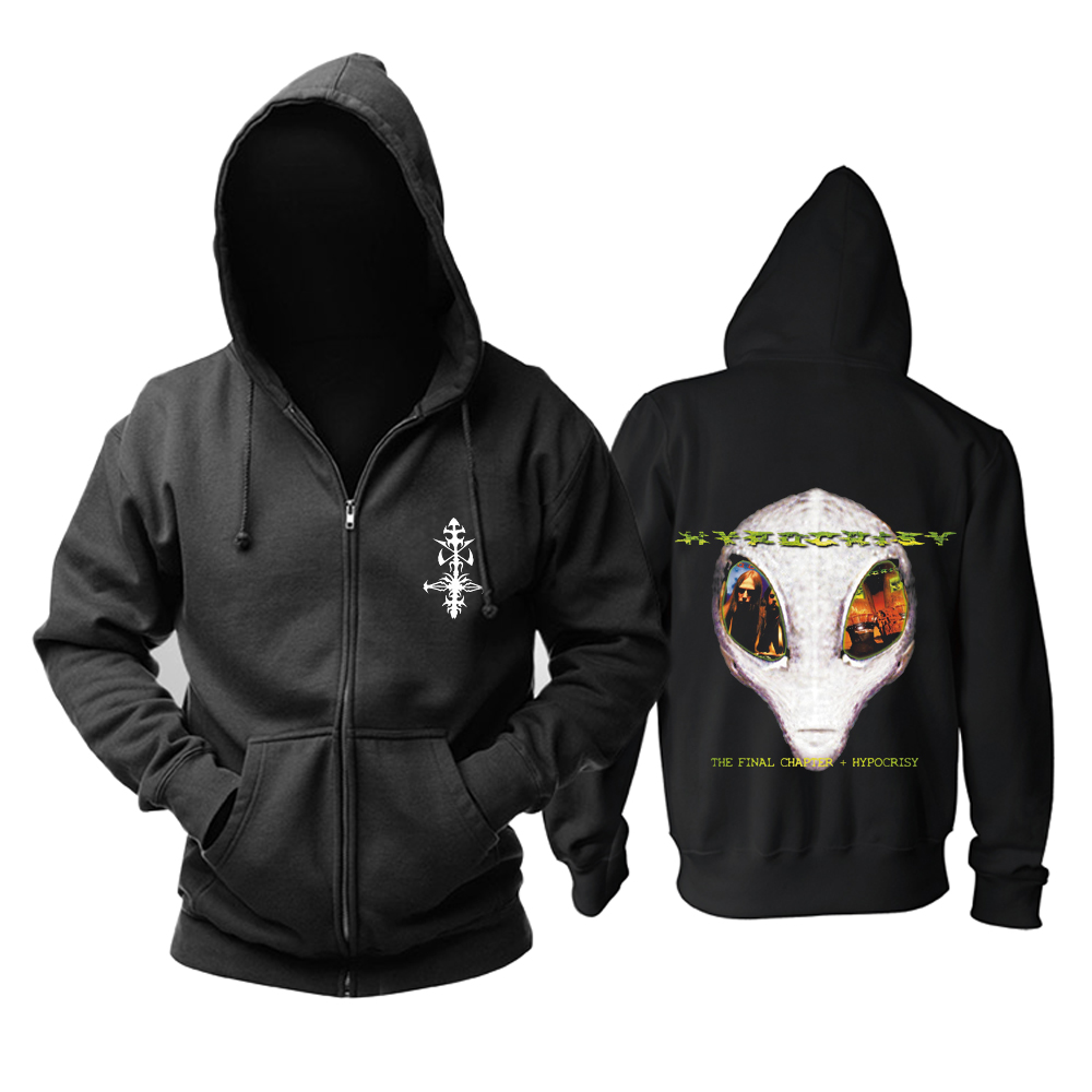 Collectibles Hoodie Hypocrisy The Final Chapter Black Pullover
