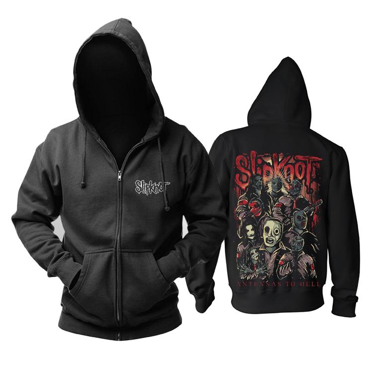 Merch Hoodie Slipknot Antennas To Hell Pullover