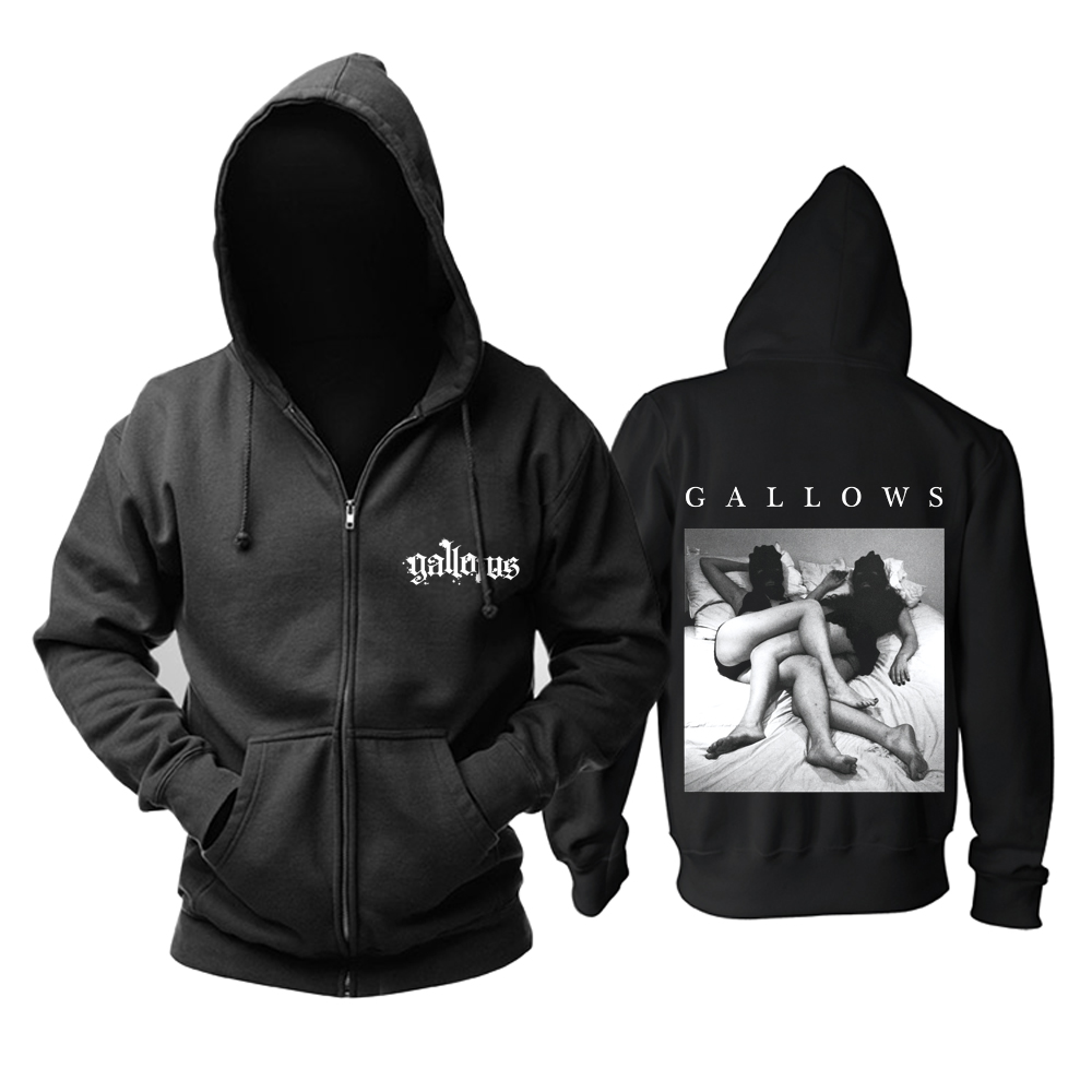Merchandise Hoodie Gallows Album Cover Pullover