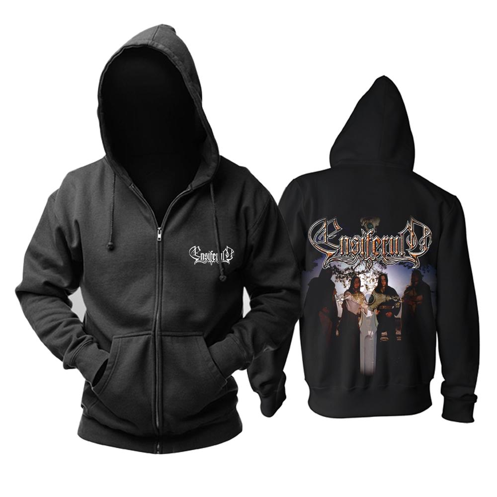 Merchandise Hoodie Ensiferum Metal Band Black Pullover