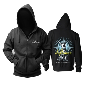 Merch Hoodie Deftones Adrenaline Black Pullover