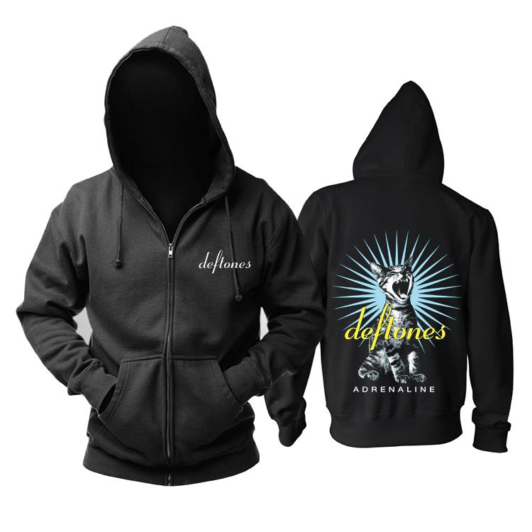 Merchandise Hoodie Deftones Adrenaline Black Pullover