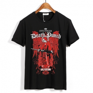 Collectibles - T-Shirt Five Finger Death Punch Salvation
