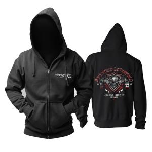 Merchandise Hoodie Avenged Sevenfold Orange County Pullover