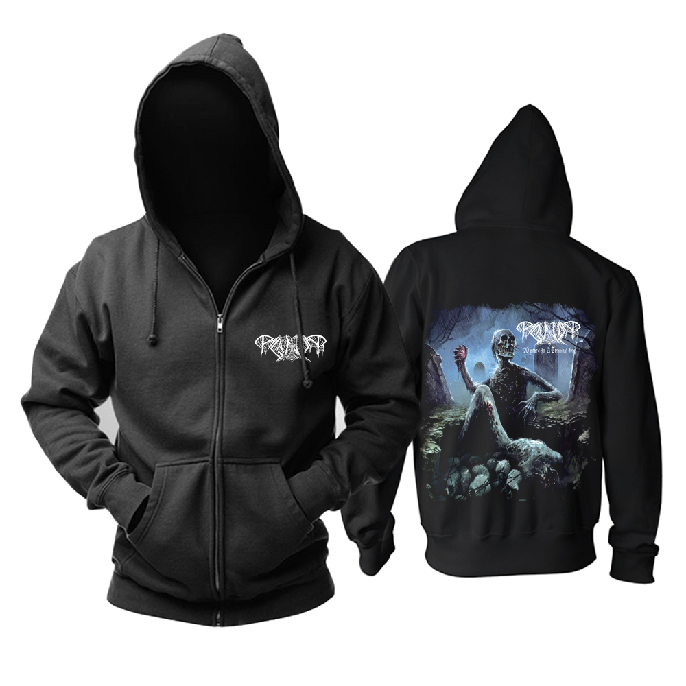 Collectibles Hoodie Paganizer 20 Years In A Terminal Grip Pullover
