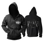 Merch Hoodie Marduk Metal Band Black Pullover
