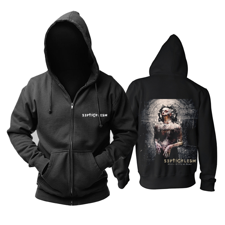 Merch Hoodie Septicflesh Mystic Places Of Dawn Pullover