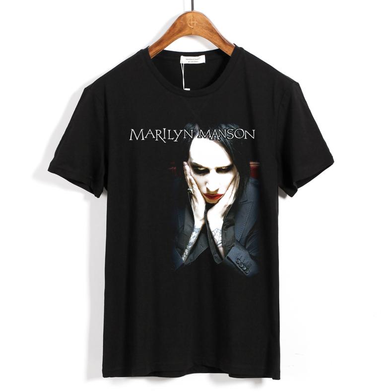 Merchandise - T-Shirt Marilyn Manson Rock Band