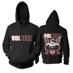 Merchandise Hoodie Volbeat Eagle Engine Pullover
