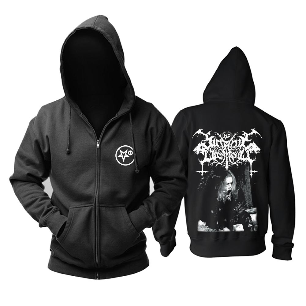 Merchandise Hoodie Satanic Warmaster Werwolf Pullover