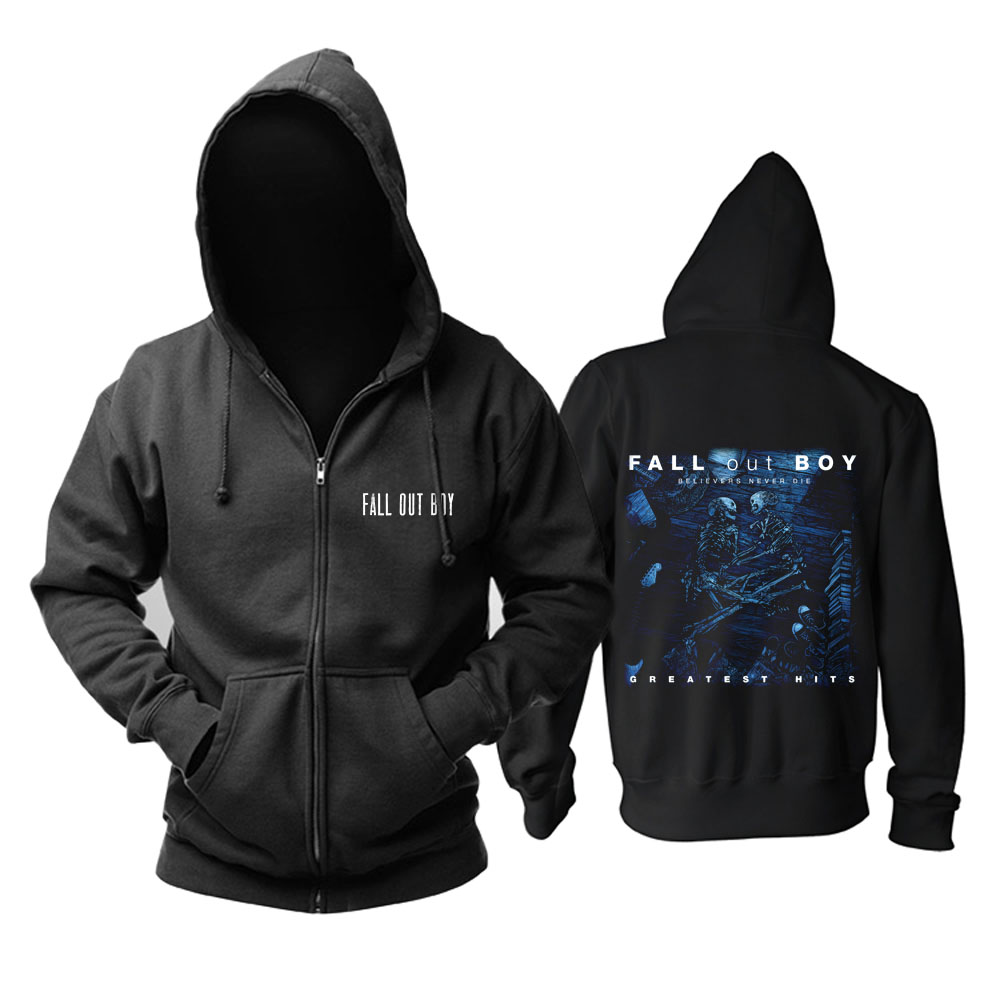 Merch Hoodie Fall Out Boy Believers Never Die Pullover
