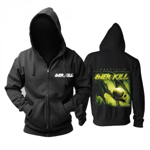 Collectibles Hoodie Overkill Immortalis Metal Music Pullover