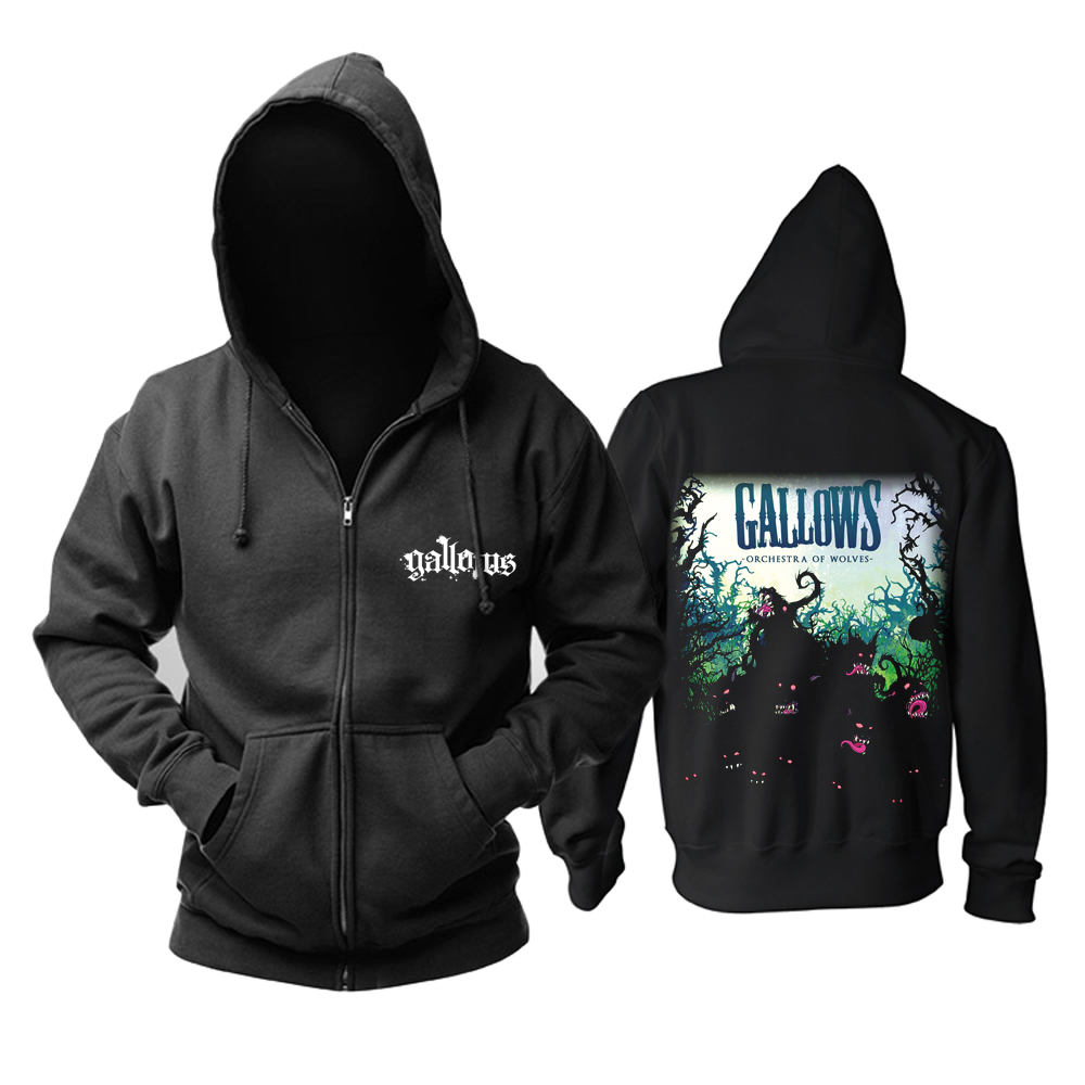 Collectibles Hoodie Gallows Orchestra Of Wolves Pullover