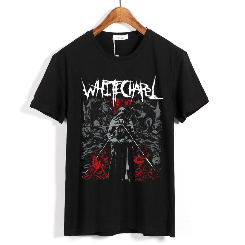 Merch T-Shirt Whitechapel Deathcore Black