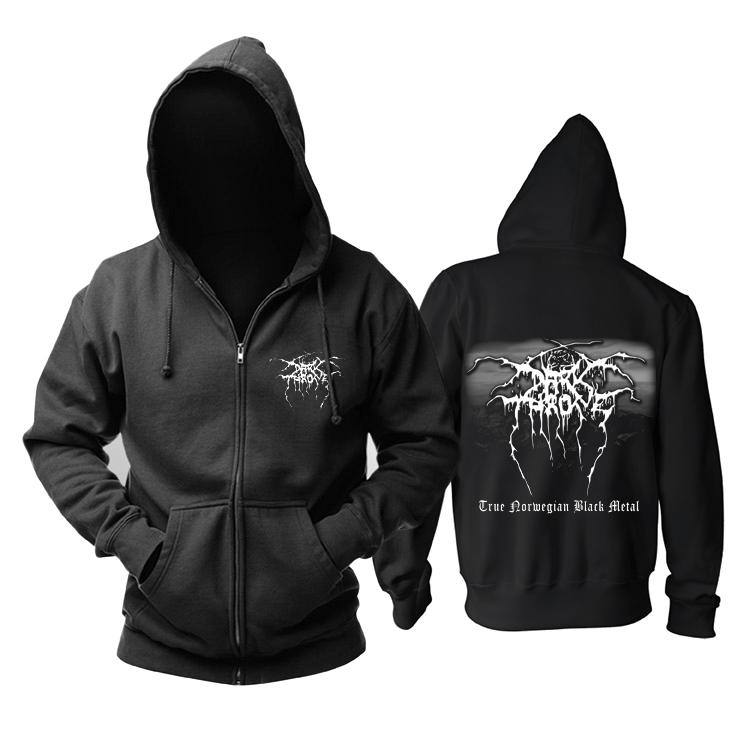 Merchandise Hoodie Darkthrone True Norwegian Black Metal Pullover