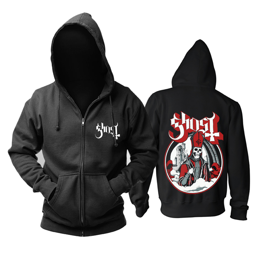 Collectibles Hoodie Ghost Heavy Metal Pullover