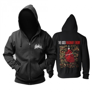 Merch Hoodie The Used Imaginary Enemy Black Pullover