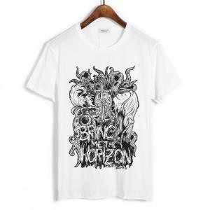 Merchandise T-Shirt Bring Me The Horizon Kraken White