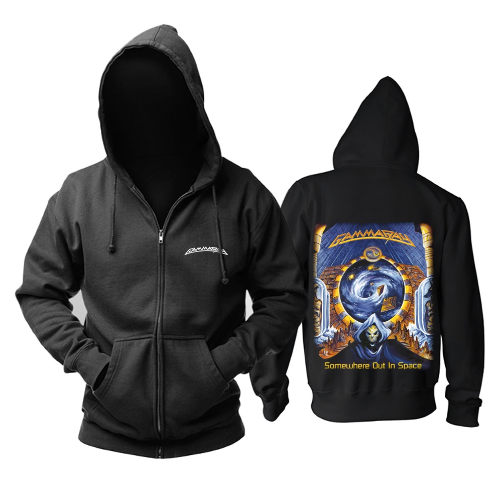 Merch Hoodie Gamma Ray Somewhere Out In Space Pullover