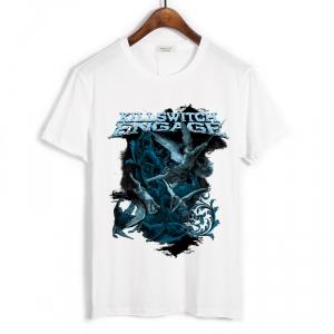 Merch T-Shirt Killswitch Engage Angels White