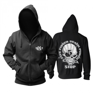Collectibles - Hoodie Five Finger Death Punch The Way Of The Fist Logo