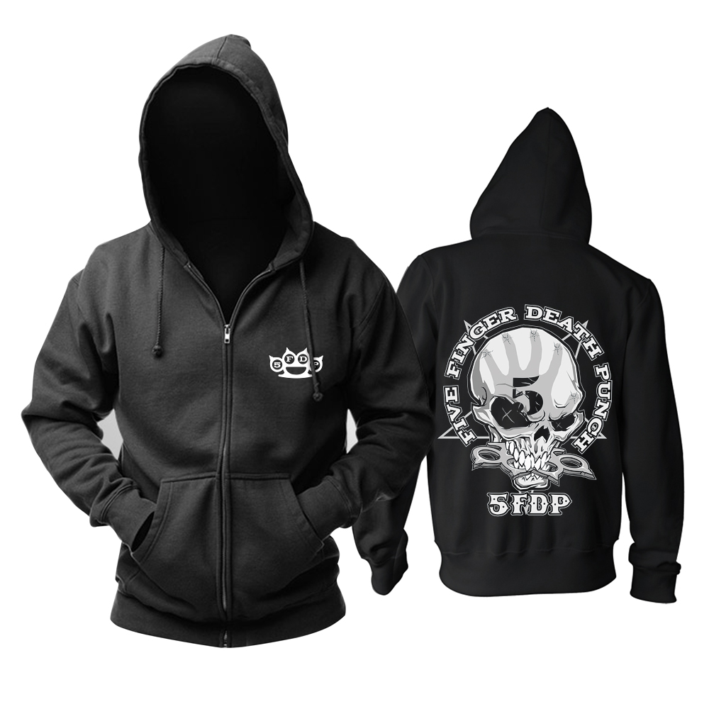 Merch Hoodie Five Finger Death Punch The Way Of The Fist Logo Pullover