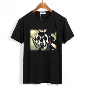 Merchandise T-Shirt Deftones Metal Band Skull
