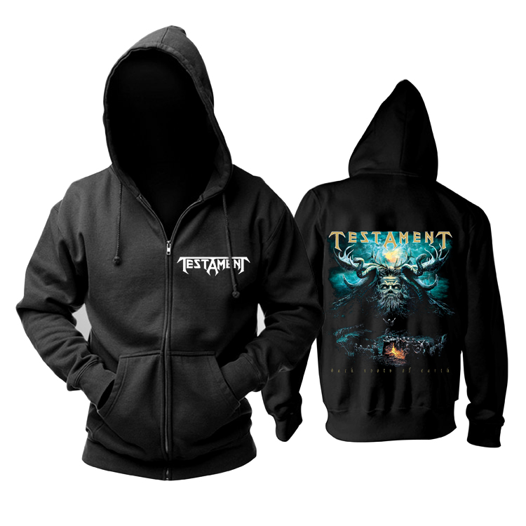 Collectibles Hoodie Testament Dark Roots Of Earth Pullover