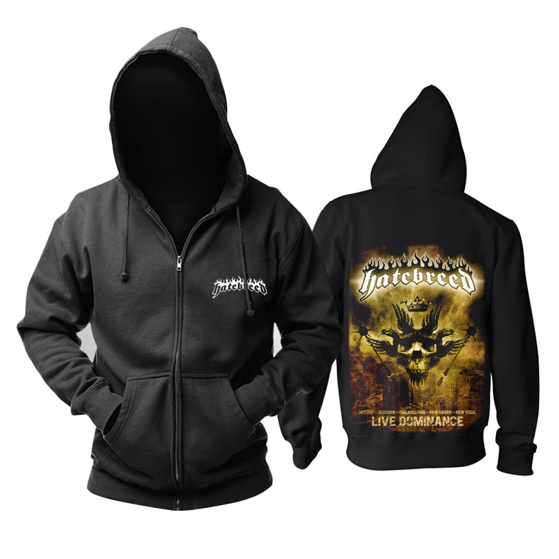 Collectibles Hoodie Hatebreed Live Dominance Pullover