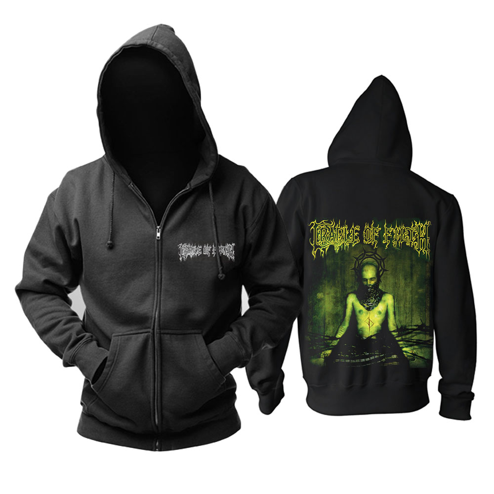 Merch Hoodie Cradle Of Filth Thornography Black Pullover