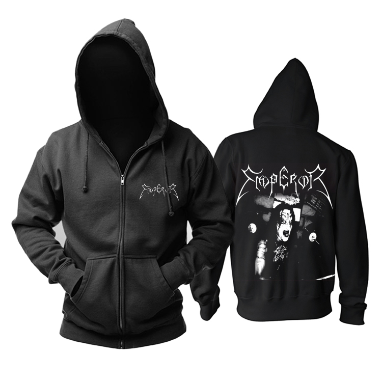 Merch Hoodie Emperor Black Metal Band Pullover